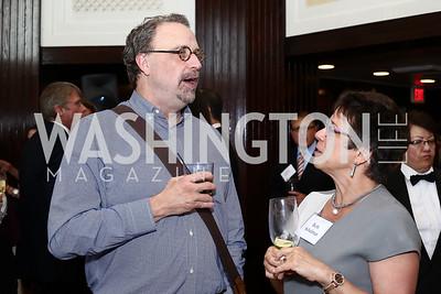 Scott Swenson, Beth Schulman. Photo by Tony Powell. 45th Anniversary of Public Citizen. Press Club. June 16, 2016