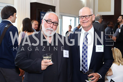 Vince Mondillo, Wendell Potter. Photo by Tony Powell. 45th Anniversary of Public Citizen. Press Club. June 16, 2016