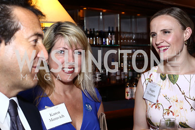 David Halperin, Karen Maravich, Maggie Thompson. Photo by Tony Powell. 45th Anniversary of Public Citizen. Press Club. June 16, 2016
