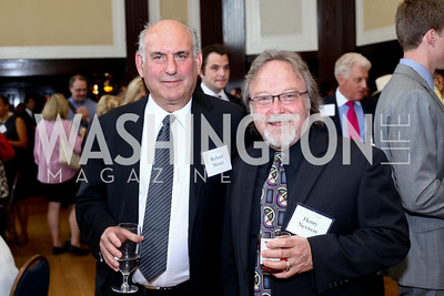 Richard Master, Henry Nevison. Photo by Tony Powell. 45th Anniversary of Public Citizen. Press Club. June 16, 2016