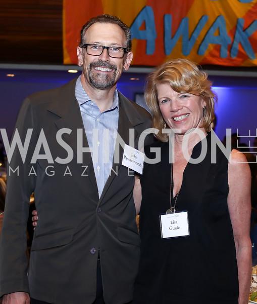 John Passacantando, Lisa Guide. Photo by Tony Powell. 45th Anniversary of Public Citizen. Press Club. June 16, 2016