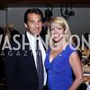David Halperin, Karen Maravich. Photo by Tony Powell. 45th Anniversary of Public Citizen. Press Club. June 16, 2016