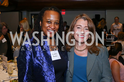 Cynthia Renfro, Lori Wallach. Photo by Tony Powell. 45th Anniversary of Public Citizen. Press Club. June 16, 2016