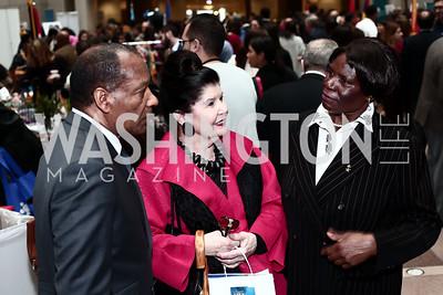 Reginald McFail, Judith Terra, Rosemary Segero. Photo by Tony Powell. 4th Annual Winternational. Reagan Building. December 9, 2015