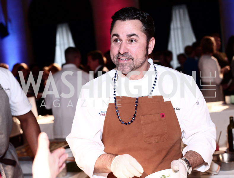 Chef David Guas. Photo by Tony Powell. 6th Annual Blue Star Neighbors Gala. Chamber of Commerce. April 7, 2016