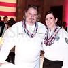 Chef Robert Wiedmaier, TSGT Jennifer Medeiros. Photo by Tony Powell. 6th Annual Blue Star Neighbors Gala. Chamber of Commerce. April 7, 2016