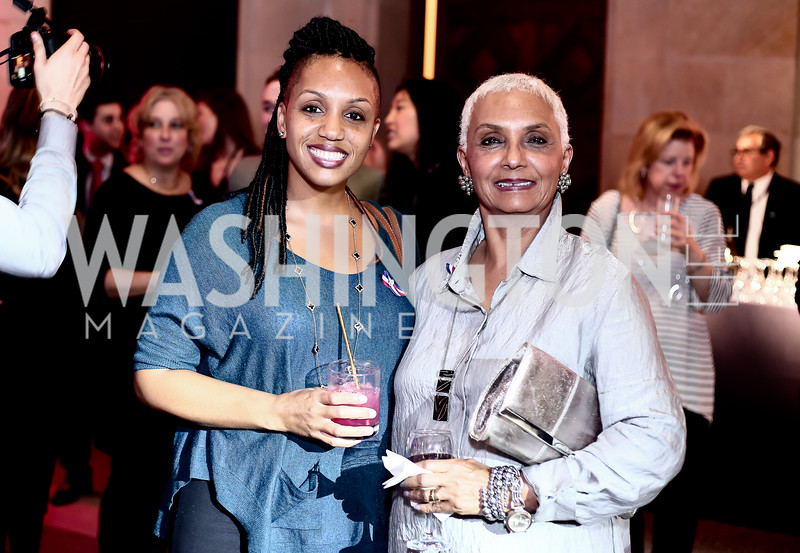 Kelly Bolden and Jackie Bolden. Photo by Tony Powell. 6th Annual Blue Star Neighbors Gala. Chamber of Commerce. April 7, 2016