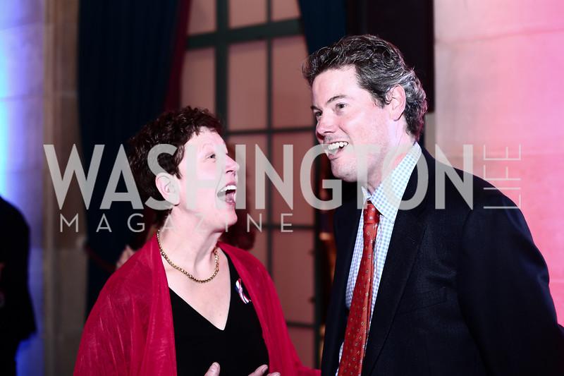 Linda Talley, John Barr. Photo by Tony Powell. 6th Annual Blue Star Neighbors Gala. Chamber of Commerce. April 7, 2016