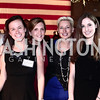 Meaghan Donohoe, Simone Rathle, Kristen Hartke, Megan Malloy. Photo by Tony Powell. 6th Annual Blue Star Neighbors Gala. Chamber of Commerce. April 7, 2016