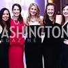 Diem Larsen, Lauren Cairns, Molly Pomeroy, Kate Donatiello, Hannah Berl. Photo by Tony Powell. 8th Annual Heroes Curing Childhood Cancer Gala. Ritz Carlton. February 20, 2016
