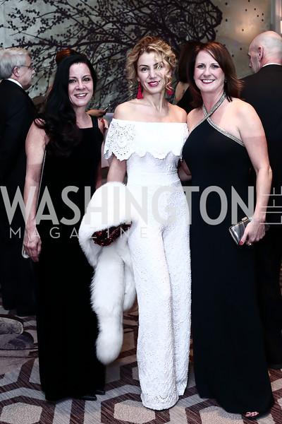 Luann Carra, Severina Mladenova, Martha Quinn. Photo by Tony Powell. 8th Annual Heroes Curing Childhood Cancer Gala. Ritz Carlton. February 20, 2016