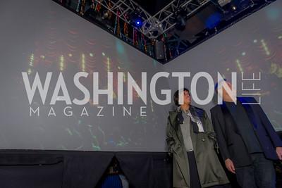 Mayor Muriel Bowser, Seth Hurwitz, 9:30 Club World's Fair, Celebrating 35 Years, January 5, 2016, photo by Ben Droz.