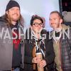 Jeff Hancock, Mari Hancock, Al Goldberg, 9:30 Club World's Fair, Celebrating 35 Years, January 5, 2016, photo by Ben Droz.