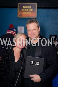 Caroline Hurwitz, Seth Hurwtiz, 9:30 Club World's Fair, Celebrating 35 Years, January 5, 2016, photo by Ben Droz.