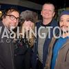 Joe Reza, Jennifer Vinson, Archie Myers, Nick Pimentel, 9:30 Club World's Fair, Celebrating 35 Years, January 5, 2016, photo by Ben Droz.