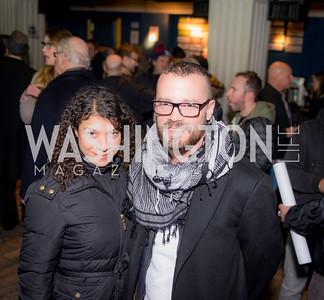 Caroline Phillips, John Liipfert, 9:30 Club World's Fair, Celebrating 35 Years, January 5, 2016, photo by Ben Droz.