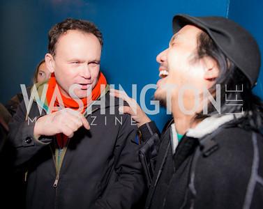 Alec MacKaye, Brian Liu, 9:30 Club World's Fair, Celebrating 35 Years, January 5, 2016, photo by Ben Droz.