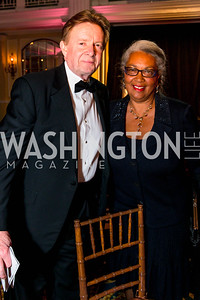 Neil Kerwin, Mary Kennard. Photo by Alfredo Flores. A Celebration of Diane Rehm. The Willard Intercontinental Hotel. November 10, 2016