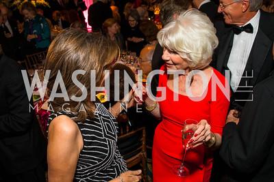Sandra Baker,  Diane Rehm. Photo by Alfredo Flores. A Celebration of Diane Rehm. The Willard Intercontinental Hotel. November 10, 2016