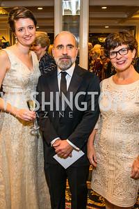 Cynthia McMullen, , David McDaniel, Andi McDaniel. Photo by Alfredo Flores. A Celebration of Diane Rehm. The Willard Intercontinental Hotel. November 10, 2016