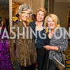 Susan Stamberg, Denise Couture Denise Fawcett. Photo by Alfredo Flores. A Celebration of Diane Rehm. The Willard Intercontinental Hotel. November 10, 2016