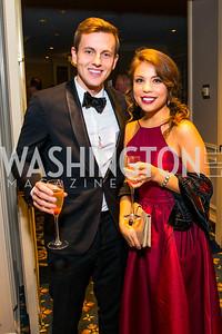 David Woolston, Rebekah Woolston, Belle Elving. Photo by Alfredo Flores. A Celebration of Diane Rehm. The Willard Intercontinental Hotel. November 10, 2016