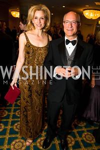 Katherine Bradley, Hal Rogoff. Photo by Alfredo Flores. A Celebration of Diane Rehm. The Willard Intercontinental Hotel. November 10, 2016