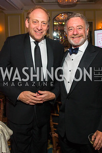 Michael Oreskes, Jarl Mohn Photo by Alfredo Flores. A Celebration of Diane Rehm. The Willard Intercontinental Hotel. November 10, 2016 .CR2