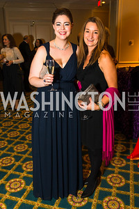 Sarah Cumbie, Amy Powers. Photo by Alfredo Flores. A Celebration of Diane Rehm. The Willard Intercontinental Hotel. November 10, 2016