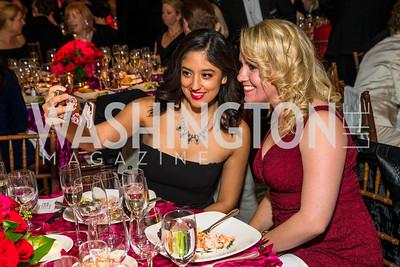 Serena Elizondo, Erica Moody. Photo by Alfredo Flores. A Celebration of Diane Rehm. The Willard Intercontinental Hotel. November 10, 2016 .CR2