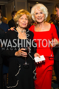 Bitsey Folger, Diane Rehm. Photo by Alfredo Flores. A Celebration of Diane Rehm. The Willard Intercontinental Hotel. November 10, 2016