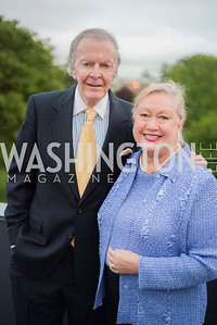 Chris and Lashley Wolf, A-May-Zing Spring Gala, at the Residence of Swiss Ambassador , THIS for Diplomats, May 6, 2016.  Photo by Ben Droz.
