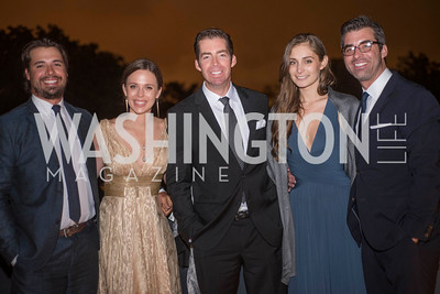 Mark Lappen, Pamela Lappen, Luke Lappen, Caroline Ruvo, A-May-Zing Spring Gala, at the Residence of Swiss Ambassador , THIS for Diplomats, May 6, 2016.  Photo by Ben Droz.