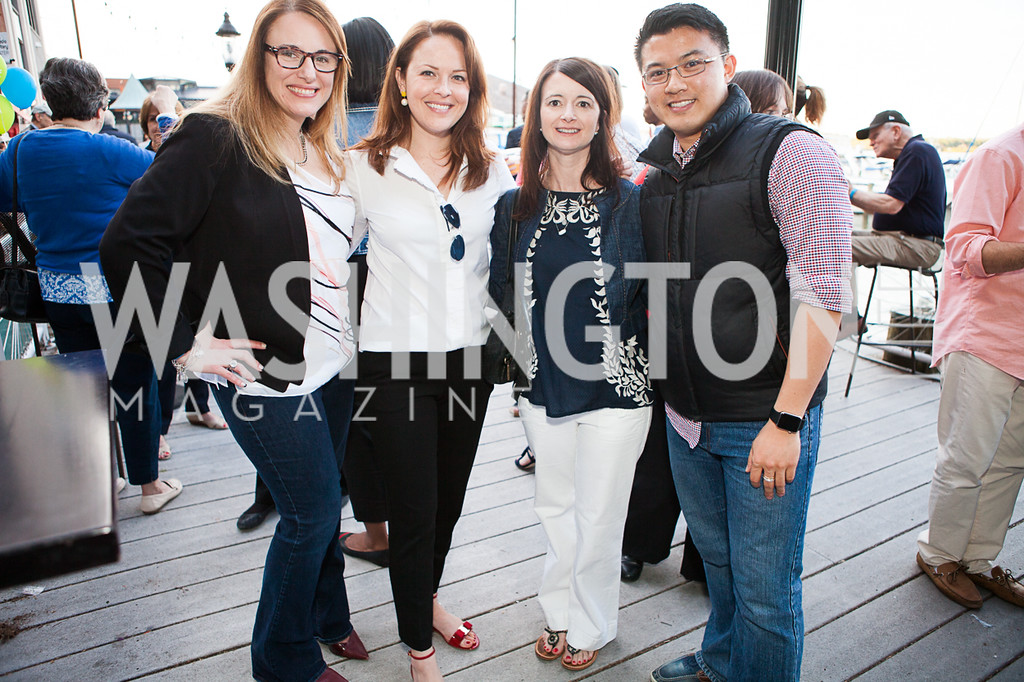 Melissa Kelly, Holly Beville, Libby Derting, Aaron Poh