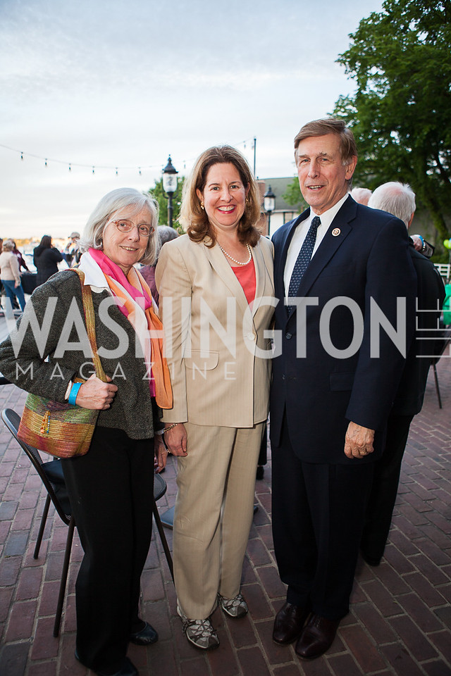 Pam Michell, Alison Silberberg, Don Beyer
