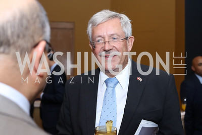 Switzerland Amb. Martin Dahinden. Photo by Tony Powell. Ahmed Mater Art Opening. Freer Sackler. September 15, 2016
