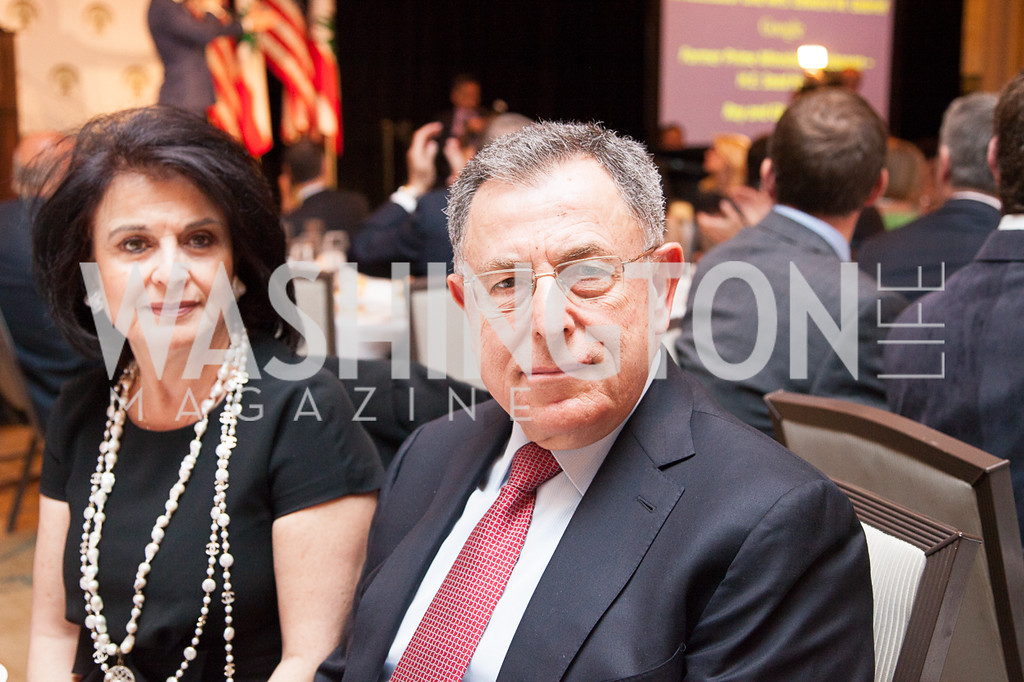 Huda Siniora, H.E. Fouad Sinora (Former Prime Minister of Lebanon)