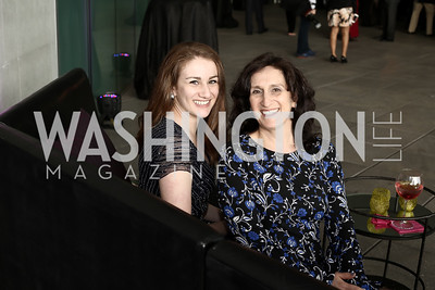 Hannah and Ruth Newburger. Photo by Tony Powell. Ana Gasteyer Benefit. Arena Stage. May 9, 2016