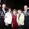Jack Evans, LuAnn Bennett, Bitsey Folger, Louann Deckelbaum, David Deckelbaum. Photo by Tony Powell. Ana Gasteyer Benefit. Arena Stage. May 9, 2016