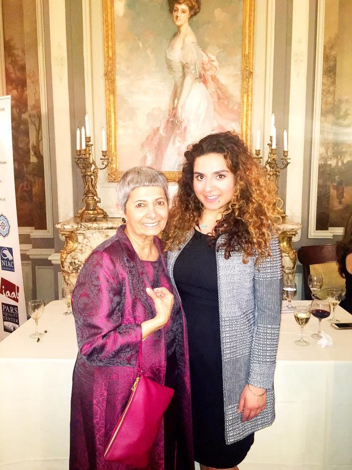 Mehrangiz Kar, Iranian Human Rights Attorney; Asal Sayas, Director of Operations for U.S. Senator Amy Klobuchar