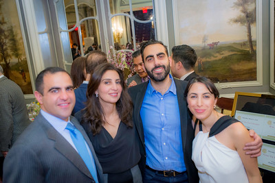 Hossein Noshirvani, Forough Parvizian-Yazdani, Fuad Sahouri, Rosa Honarpisheh (Iranian American Community Center)