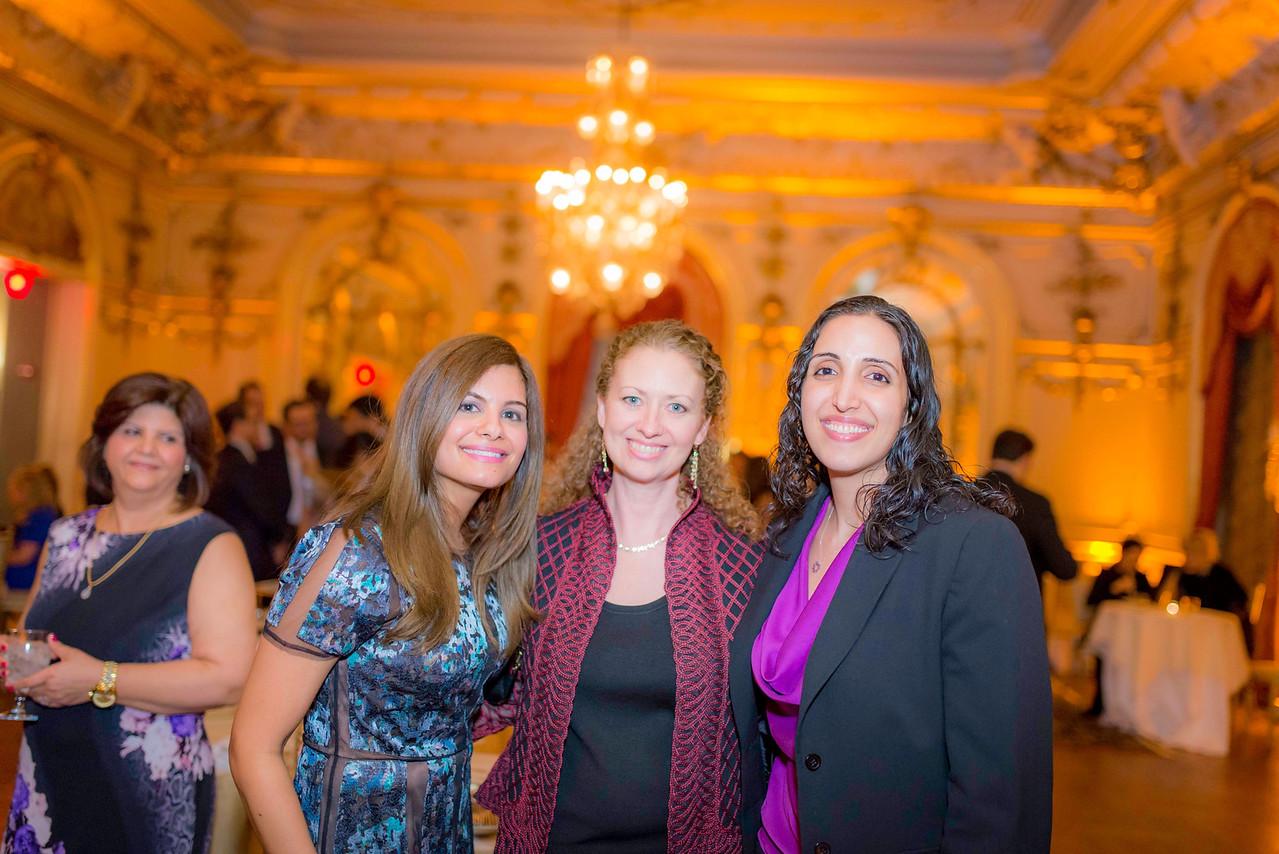Leila Mansouri (IABA President), Layli Miller-Muro (Founder, Tahirih Justice Center), Naseem Kourosh (Baha'i Human Rights Officer and IABA Board Member)