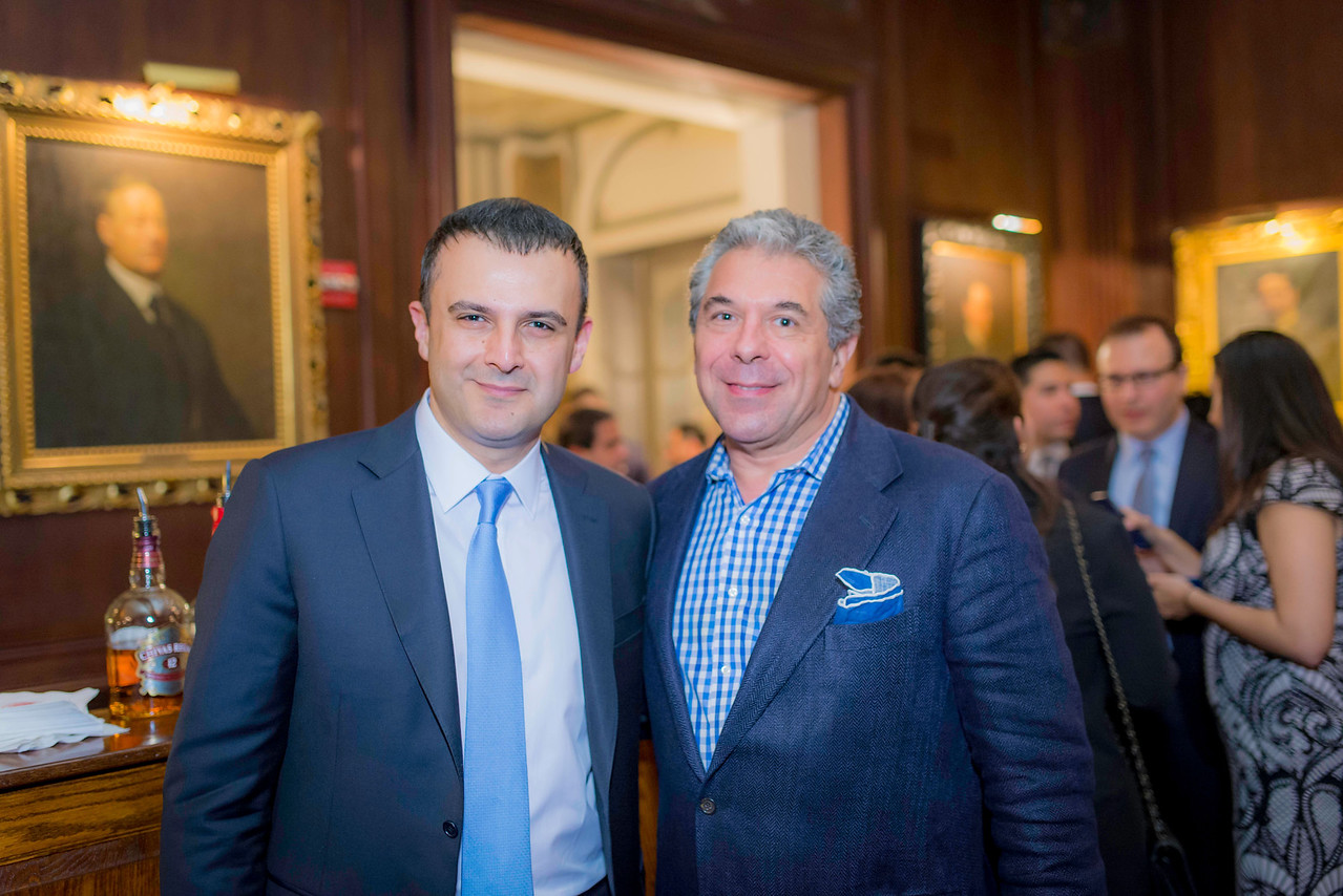 Pouya Lavian (Wells Fargo & IABA Board) and Robert Babayi (Vector IP Law and IABA Board)
