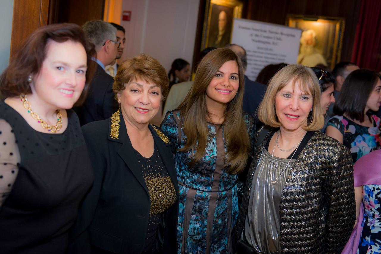 Suzanne Granoski, NVAR Chair Elect (Northern VA Association of Realtors) Mary Bayat, NVAR Chairman of the BoardLeila Mansouri (IABA) Jill Landsman - NVAR Vice President, Communication & Media