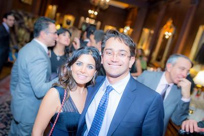 Shiva Shahabadi and Ehsan Habibpour (Iranian American Medical Society)