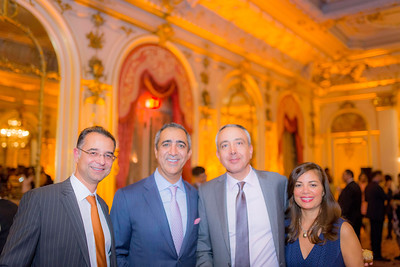 Dr. Shawn Yazdani, Mr. Ali Dilmaghani, Dr. Mark Soltany and Mrs. Susan Soltany