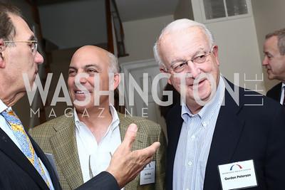 David Reines, Jonathan Silver, Gordon Peterson. Photo by Tony Powell. BPC Pre-election Prediction Party. Glickman Residence. June 9, 2016