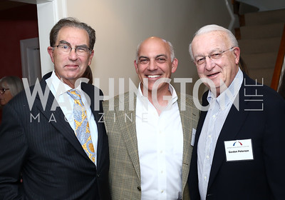 David Reines, Jonathan Silver, Gordon Peterson. Photo by Tony Powell. BPC Pre-election Prediction Party. Glickman Residence. June 9, 2016