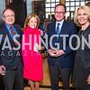 Steve Weisman, Maureen White, Mark Landler, Sally Quinn. Photo by Alfredo Flores. Berliner Salon Book Party. German Ambassador's Residence. May 10, 2016