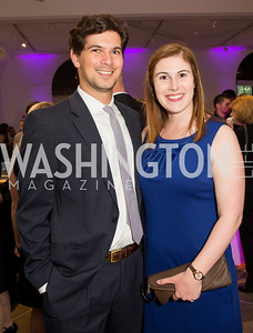 David and Nikki Iselin. Photo by Erin Schaff. 2016 Best Buddies Capital Region Prom. Carnegie Library. May 13, 2016.